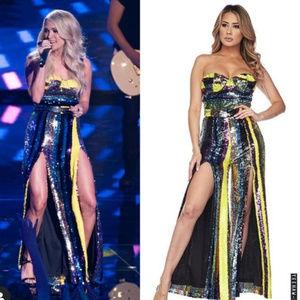Get Carrie Underwood's Look! Sequin Jumpsuit!